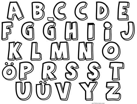 buetuen harfler alfabe boyama sayfasi