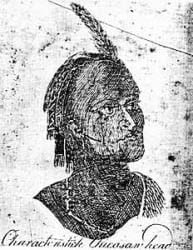 Chickasaw Head (Bernard Romans)
