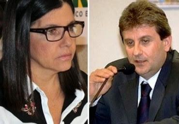 Governadora Roseana Sarney e o doleiro Alberto Youssef