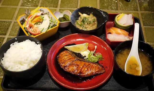 The Husband's Birthday Lunch at Izakaya