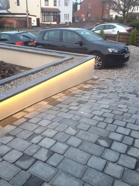 hidden led strip lights   coping stones lights