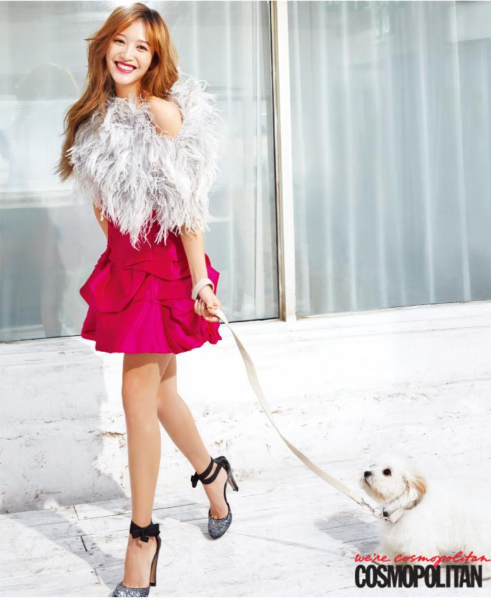 Rainbow Jae Kyung - Cosmopolitan Magazine November Issue '14
