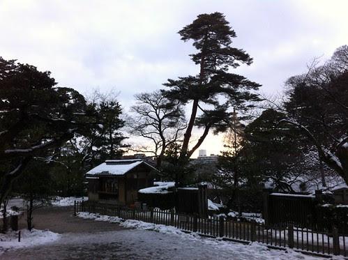 Leaving Kenroku-en