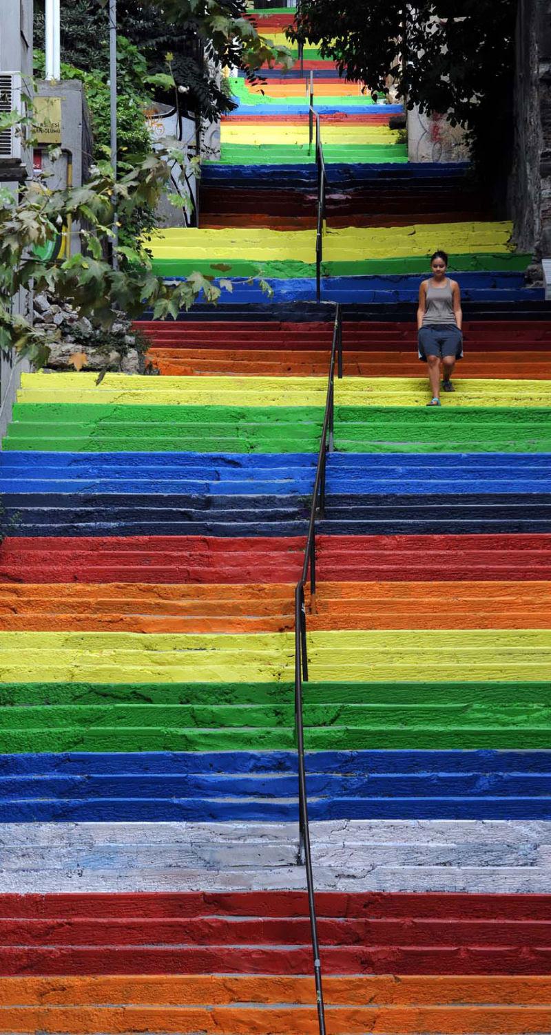 17 escadarias com as mais belas decorações urbanas do mundo 15