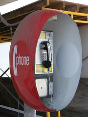 Tapped payphone