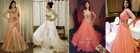 5 Different Indo Western Gowns for Wedding   Indian