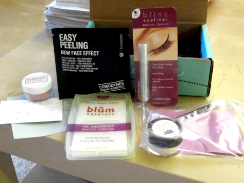 Beauty Box 5 - Product Samples Unwrapped