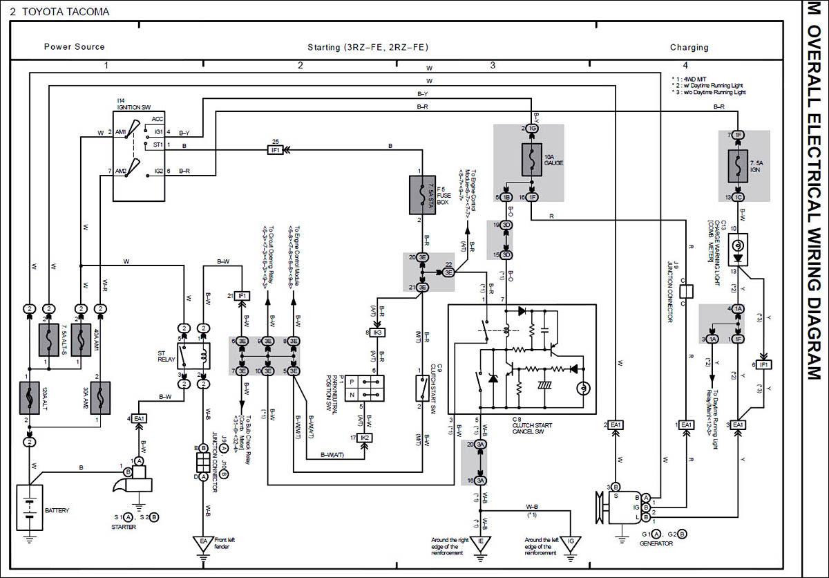 Alternator Wiring Lexus Alt To Tacoma Chassis Fourwheelforum