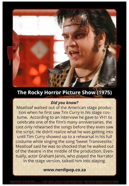 50 Fun facts about the Rocky Horror Picture Show