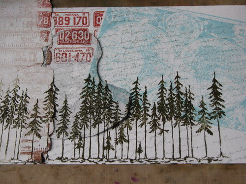 collage stamping 005