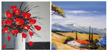 Peinture Acrylique Huile Idées De Travaux