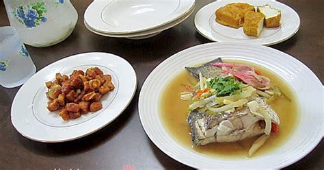 melinblossom ikan siakap masak stim ala thai