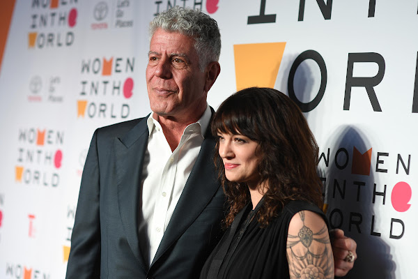 1f5bff7b82e7c Anthony Bourdain and girlfriend Asia Argento  loved without borders of  traditional relationships