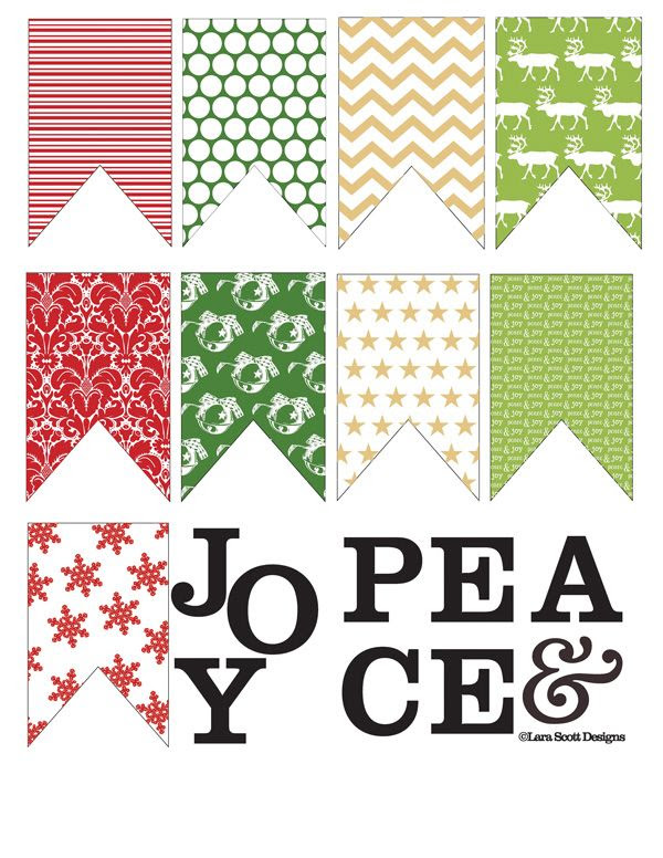 Christmas Banner Printable