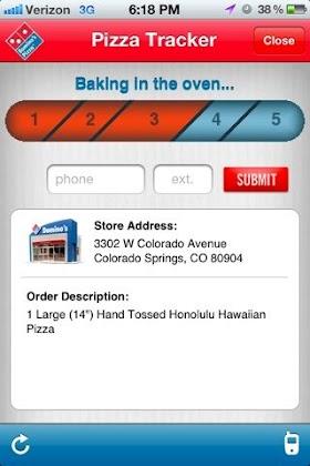 Domino S Pizza App