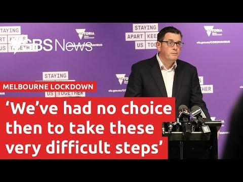 Melbourne returns to lockdown I SBS News
