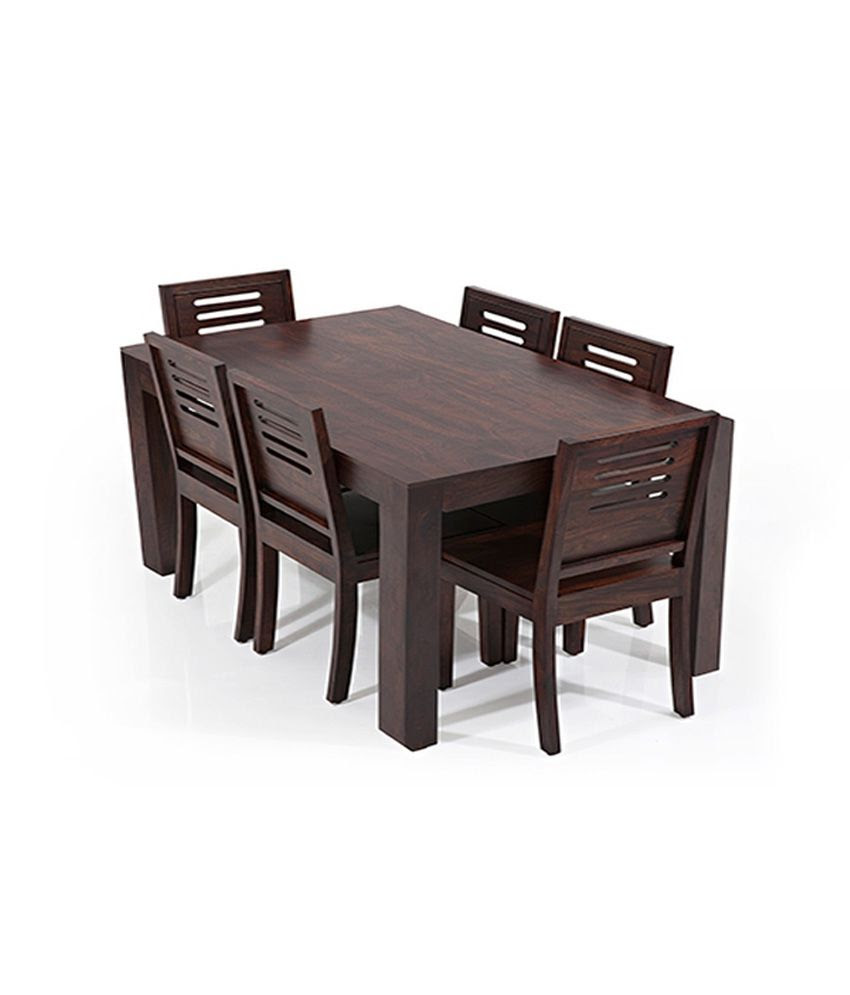 Anant Dining Set 6 Seater with Table: Buy Online at Best Price in India on Snapdeal