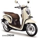 Scoopy FI Chic Cream Jogja