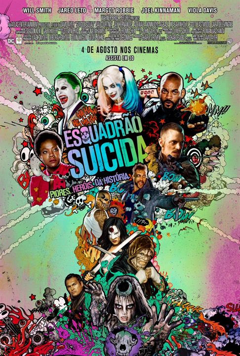 Esquadrão Suicida : Poster