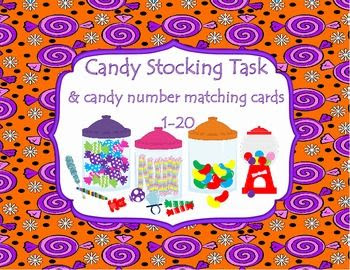 Candy Shop Task is a great pre-vocational tool to help students learn how to stock supplies and follow directions. This task can also be adapted and used a matching task by matching the candy types or matching by color.