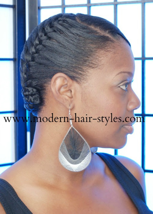 How To Braid Short Hair Black How To Wiki 89