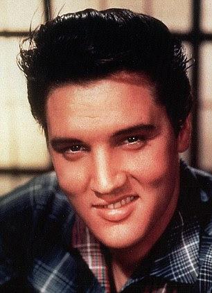 Detectar a diferença: John também fez um retrato de Elvis Presley