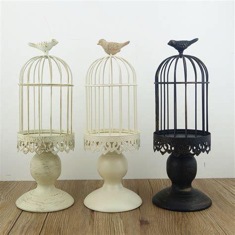Handmade metal candleholder vintage home decorative table