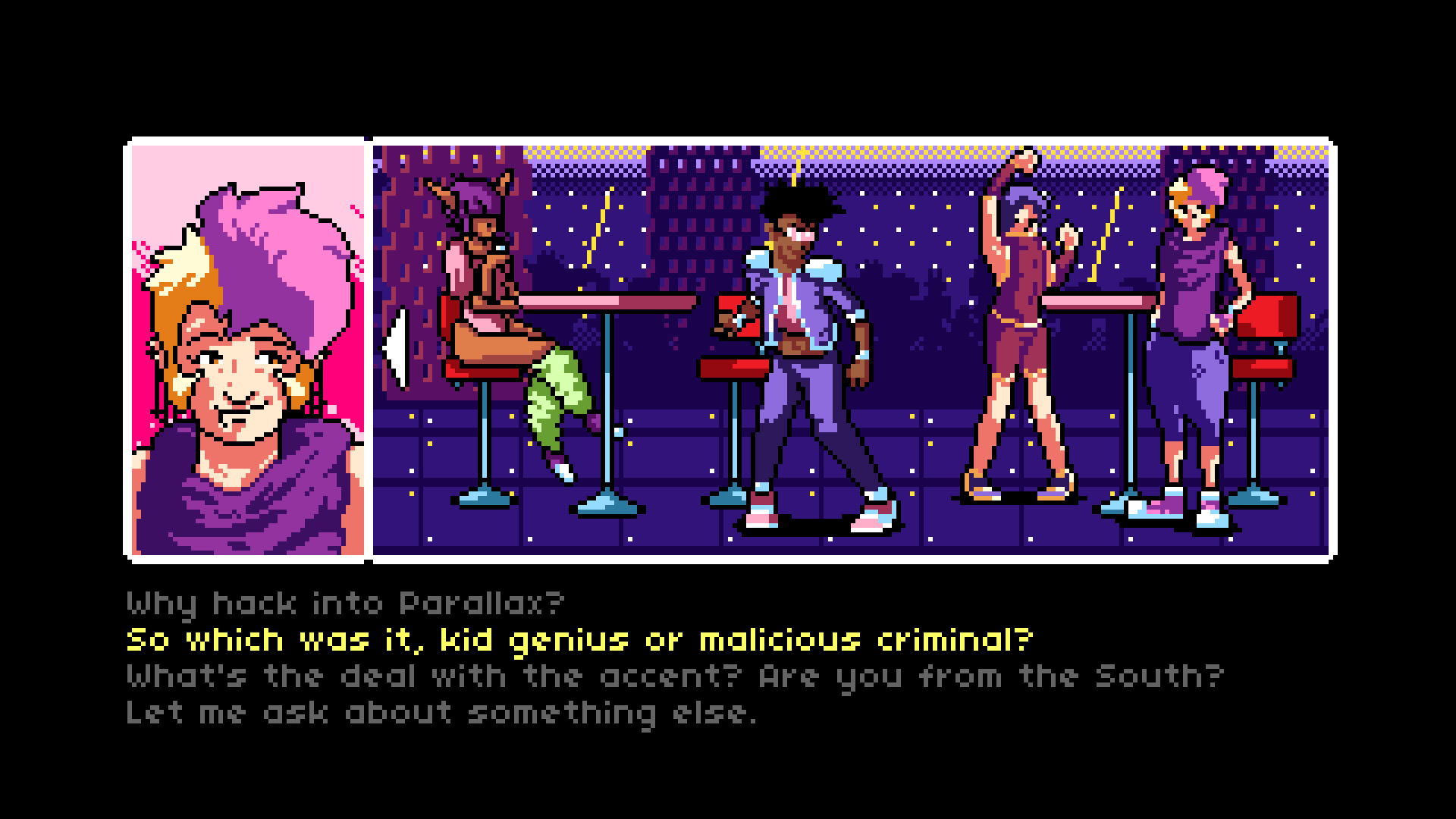 2064: Read Only Memories headed to Switch next year screenshot