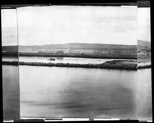 Timms' Landing (with Point Fermin and the Outer Harbor)