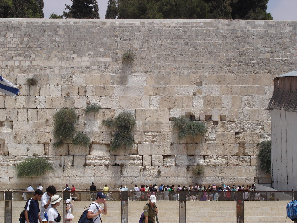 Western Wall, crowded women's section