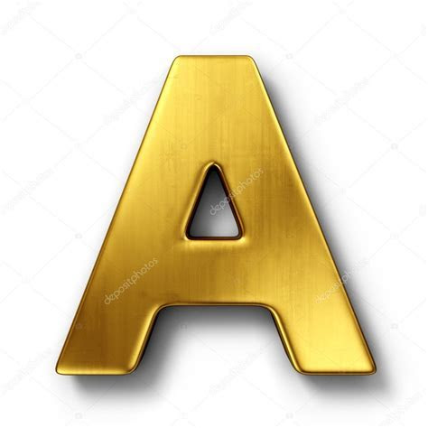 The letter A in gold ? Stock Photo © zentilia #8292934