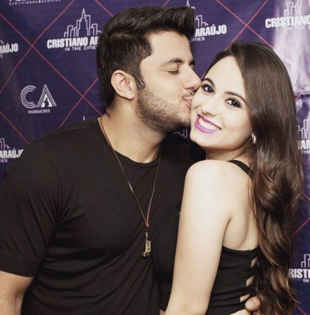 Cristiano Araújo e a namorada Allana de Moraes / Reprodução/Instagram
