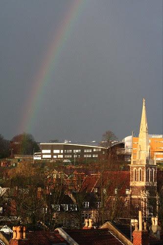 8:59 Admiring the Rainbow