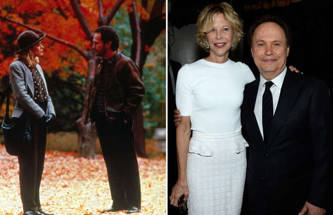 When Harry Met Sally,  Meg Ryan,  Billy Crystal; NEW YORK, NY - APRIL 28:  (EXCLUSIVE COVERAGE) Actors Meg Ryan (L) and Billy Crystal attend the 41st Annual Chaplin Award Gala at Avery Fisher Hall at Lincoln Center for the Performing Arts on April 28, 2014 in New York City.