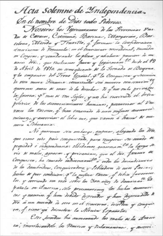 Resultado de imagen para firma de la declaracion de independencia