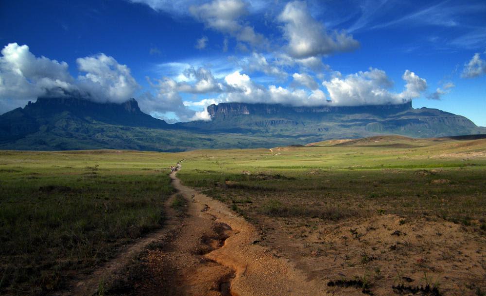 Road into Mount Roraima Landscape