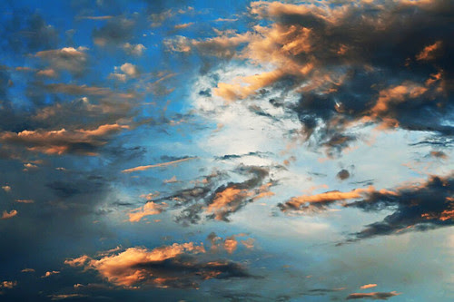 July 15, 2010: sunset clouds