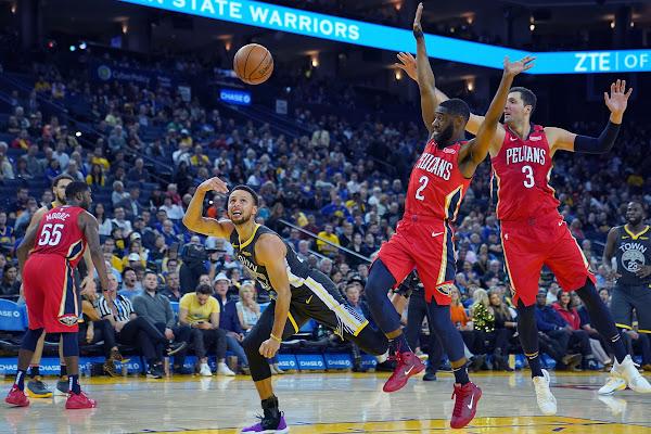 3fed57da88d New Orleans Pelicans wrap up season against Golden State Warriors