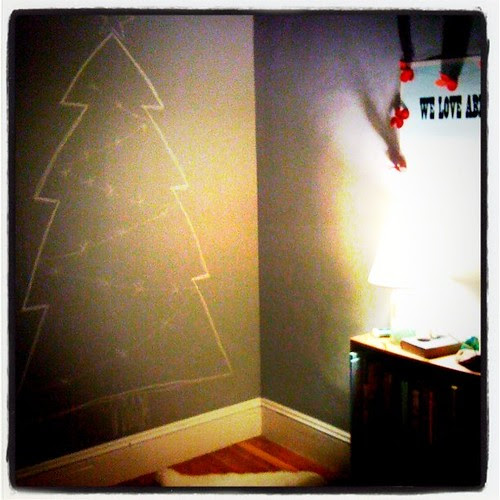 My own, personal Christmas tree
