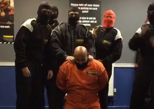 HSBC staff sacked after filming ISIS-style mock execution during team-building day out