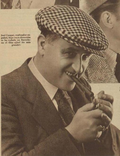 Josep (José) Gaspar en 1935