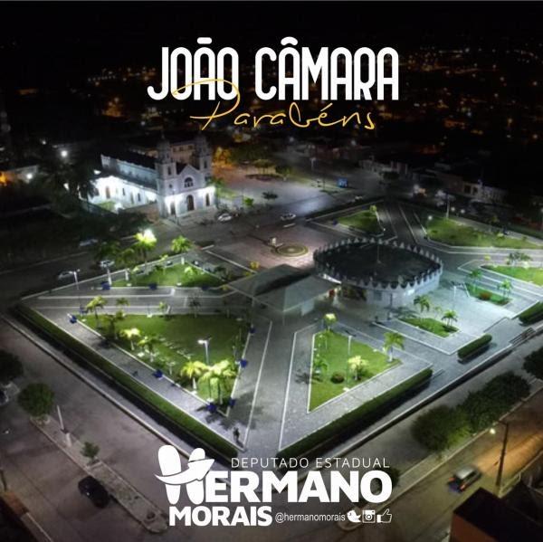 Homenagem do Deputado Estadual Hermano Morais ao município de João Câmara