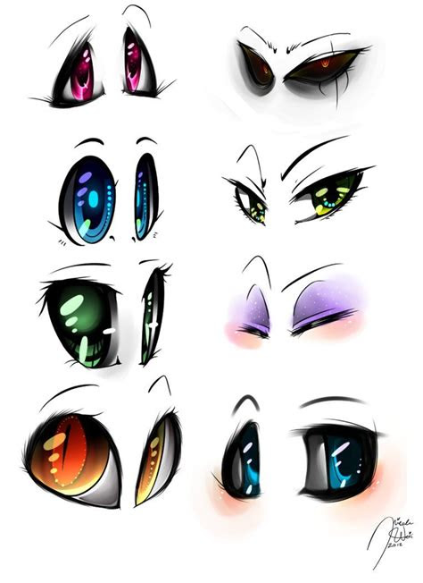 sai animemanga eyes digital set  spadenightmaren
