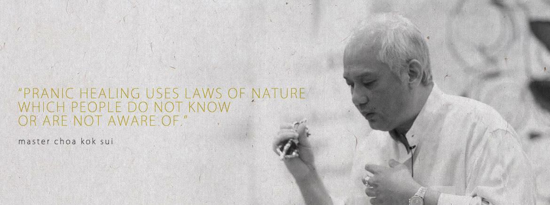 Master Choa Kok Sui Quote Prana World