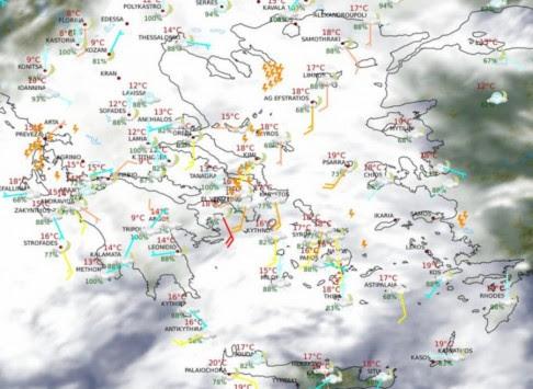Βρέχει καταρρακτωδώς σε όλη τη χώρα - Ποιοι νομοί κινδυνεύουν από ακραία φαινόμενα - Ποτάμια οι δρόμοι στη Χαλκίδα