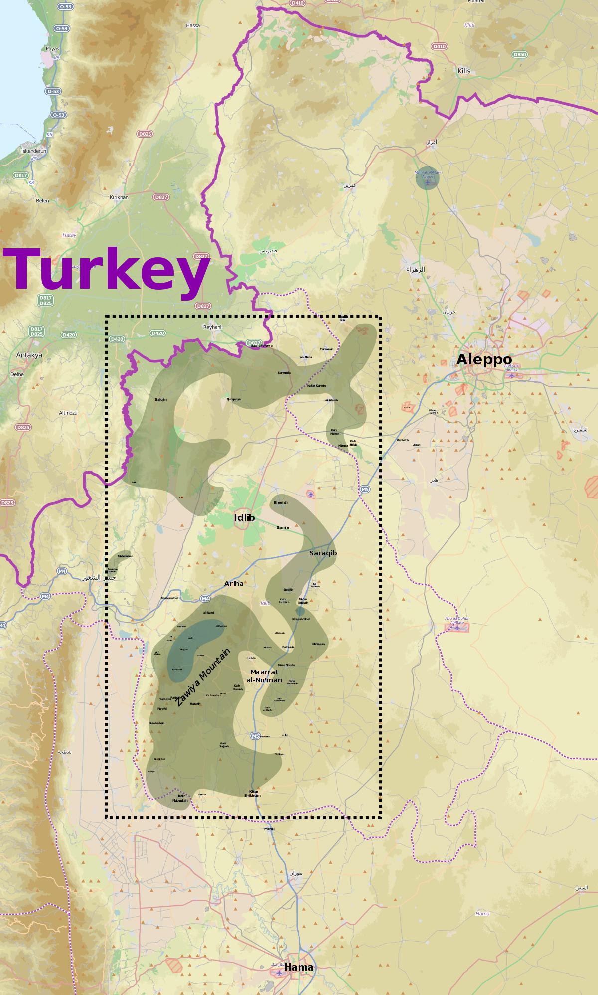 Al Nusra Front Srf Hazzm Movement Conflict Wikipedia