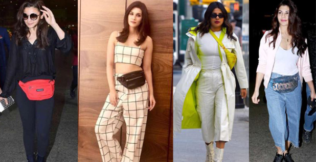 Bollywood Divas Are Proving Bum Bag Is An Essential Bag To Have