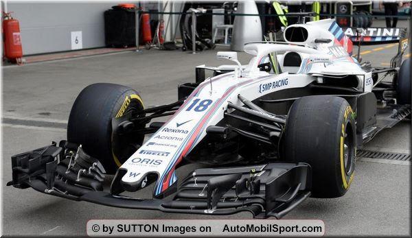 Williams Martini Racing F1 Azerbaijan Grand Prix Qualifying Automobilsport Com