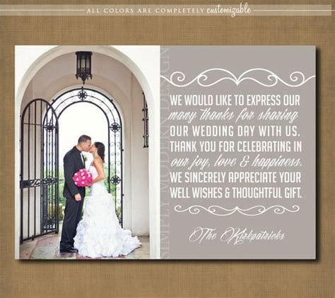Wedding thank you cards, Wedding thank you and Thank you