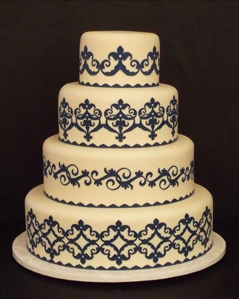 Creative Designs For Cakes: Pre Cut Wedding Cake Designs